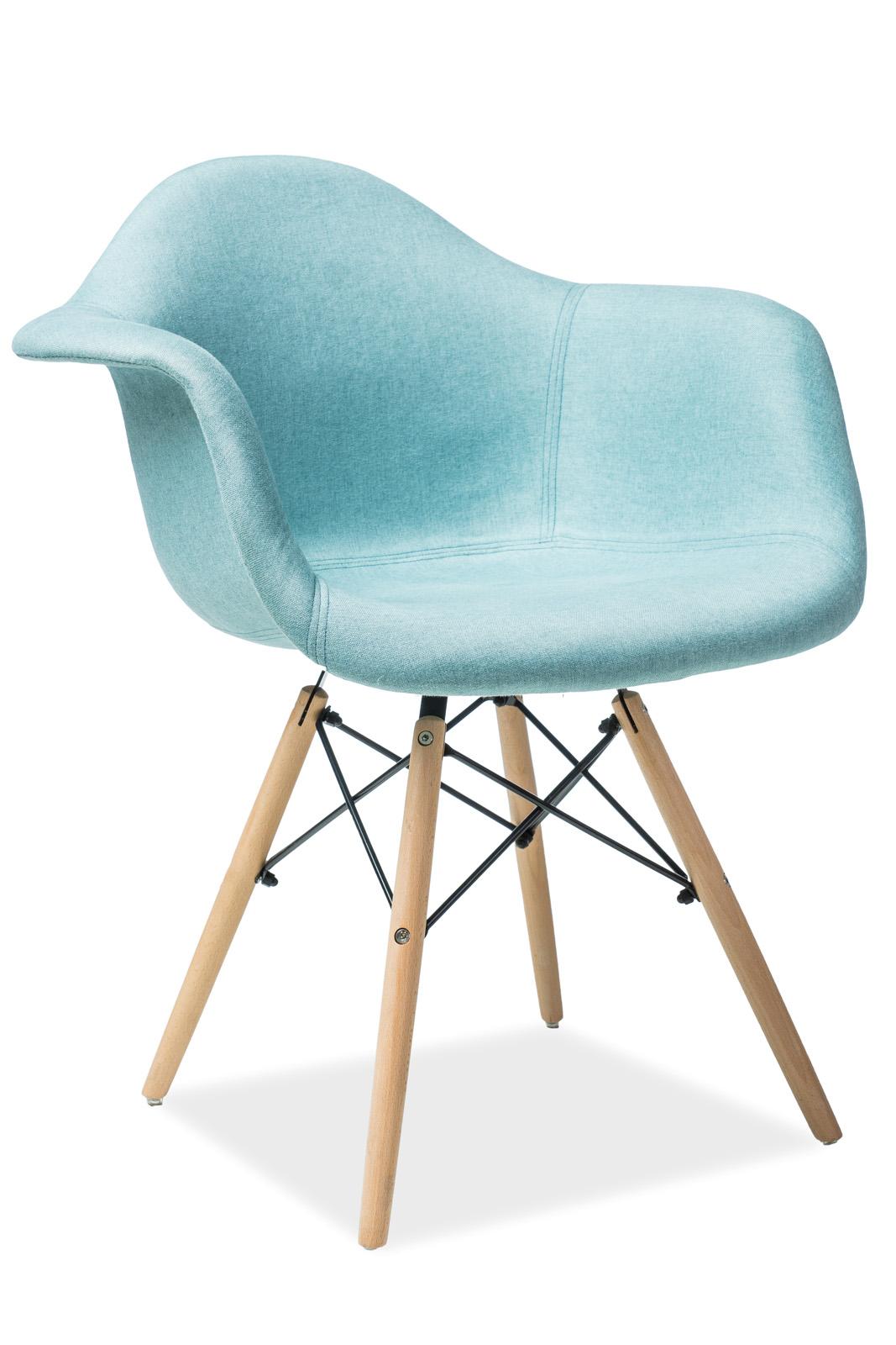 Ogromnie Krzesło BONO mięta Signal DU68